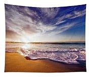 Seaside Sunset Tapestry