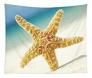 Seastar On Beach Tapestry