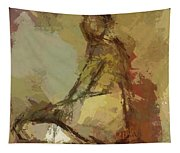 Seated Figure Tapestry