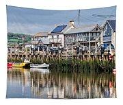 Seaton Harbour - Devon Tapestry
