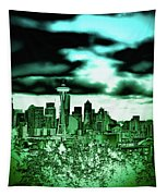 Seattle - The Emerald City Tapestry