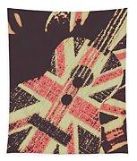 Second British Invasion Tapestry