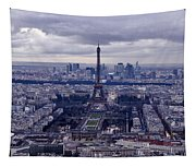 See Paris As Birds Do Tapestry