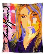 Self Portraiture Digital Art Photography Tapestry
