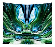 Self Reflection - Blue Green Tapestry