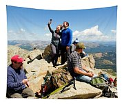 Selfies  The Mount Massive Summit Tapestry