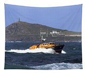 Sennen Cove Lifeboat Tapestry