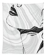 Sensual Portrait Art - Marbled Seduction - Sharon Cummings Tapestry