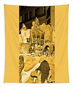 Sepia Toned Glass Slipper Tapestry