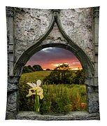 Serene Sunset Over County Clare Tapestry by James Truett