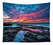 Serene Sunset Tapestry