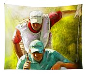 Sergio Garcia In The Madrid Masters Tapestry