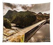 Serpentine River Crossing Tapestry