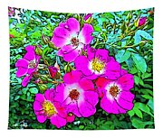 Seven Sisters Rose Variant Tapestry