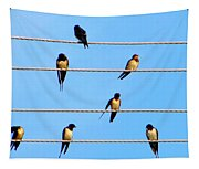 Seven Swallows Tapestry