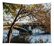Seville - The Triana Bridge 2  Tapestry
