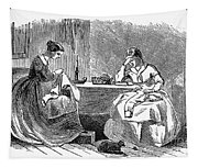 Sewing, 19th Century Tapestry