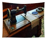 Sewing Machine And Pincushions Tapestry