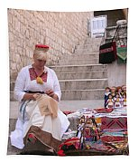 Sewing Souvenirs In Old Dubrovnik Tapestry