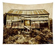 Shabby Country Cottage Tapestry