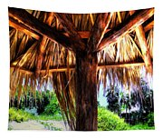 Shade On The Beach Tapestry
