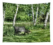 Shaded Bench Tapestry