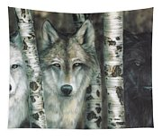 Shades Of Gray Tapestry
