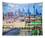 Shades Of Philadelphia Tapestry