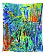Shadow Heron Tapestry