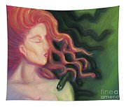 Shadow Of Medusa Tapestry