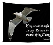 Shadow Of Thy Wings Tapestry