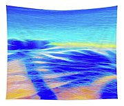 Shadows In The Surf Tapestry