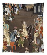 Shah Jahan (1592-1666) Tapestry