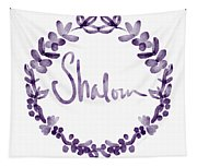 Shalom Wreath- Art By Linda Woods Tapestry