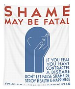 Shame May Be Fatal - Wpa Tapestry