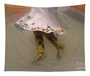 Pow Wow Shawl Dancer 8 Tapestry