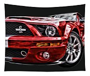 Shelby On Fire Tapestry