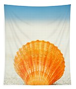 Shell On Beach Tapestry
