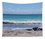 Shells On The Beach Tapestry