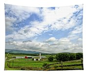 Shenandoah Valley West Virginia Scenic Series Tapestry