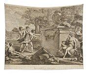 Shepherds In Arcadia Tapestry