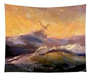Ship In Trouble H B Tapestry