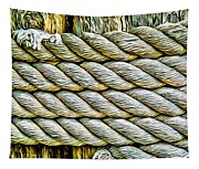 Ship Rope Anchored Tapestry