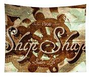 Ship Shape 1908 Tapestry