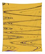 Shoestring Eucalyptus Abstract Tapestry
