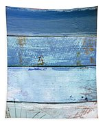 Shore And Sunset Tapestry