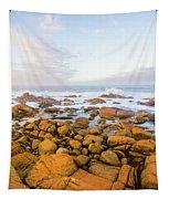 Shore Calm Morning Tapestry