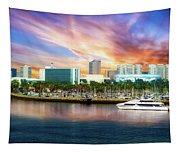 Shoreline Long Beach Ca 09 Tapestry