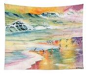 Shoreline Watercolor Tapestry