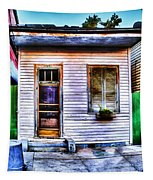 Shotgun House Number 3 Tapestry
